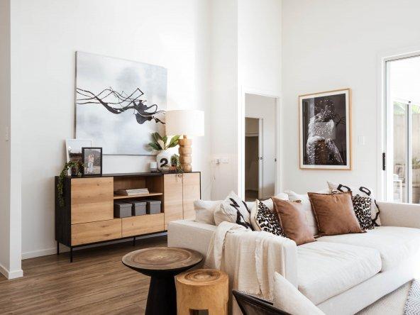 living space sofa