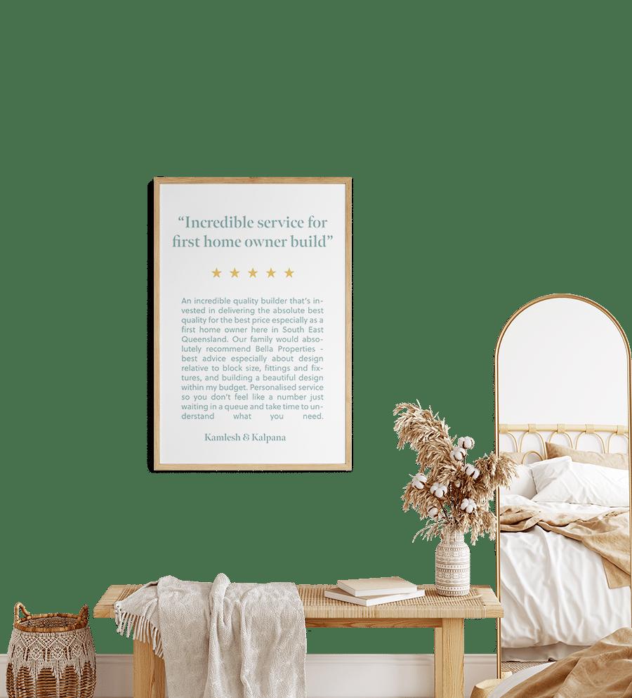custom home builder testimony
